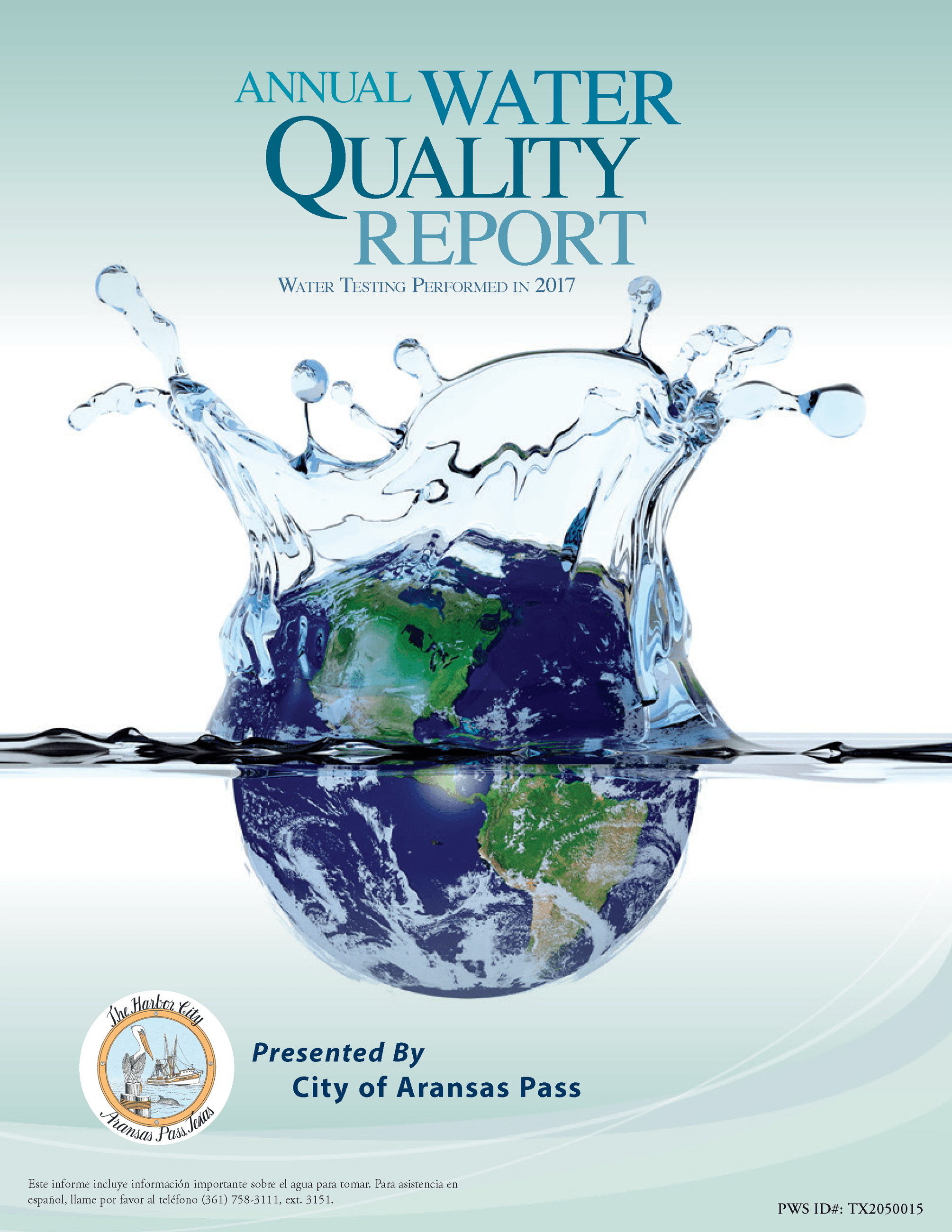 WATER QUALITY REPORT - PUBLISHED 2018