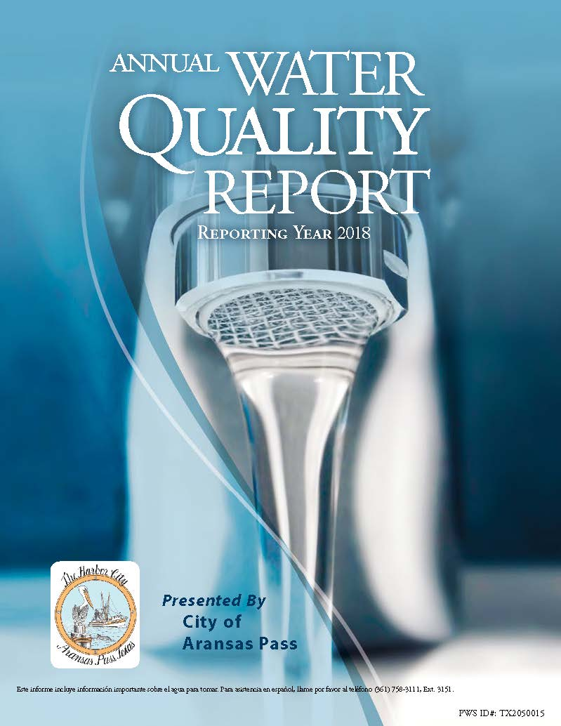 Annual Water Quality Report 2018 Opens in new window